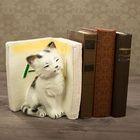 """Подставка для книг """"Котята - А"""", бордо 20см"""