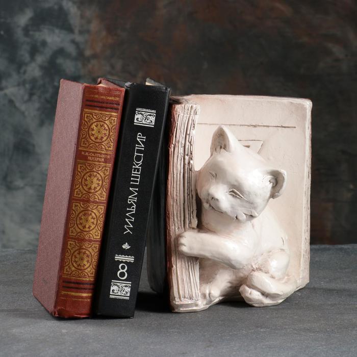 """Подставка для книг """"Котята"""", состаренный, цвет коричневый, 20 см"""