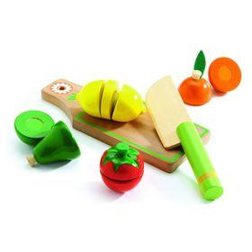 «Набор «Учусь готовить. Фрукты и овощи» на липучках, 6 предметов в Донецке