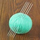 Спицы для вязания чулочные, d=2мм, 20см, 5шт