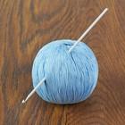 Крючок для вязания алюминиевый, d=3мм 15см