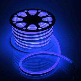 Flexible neon 15 x 25 mm, 25 metres, LED-120-a SMD2835, 220 V, BLUE