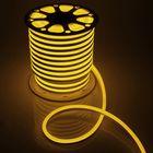 Гибкий неон 15 х 25 мм, 50 метров, LED-120-SMD2835, 220 V, ЖЕЛТЫЙ