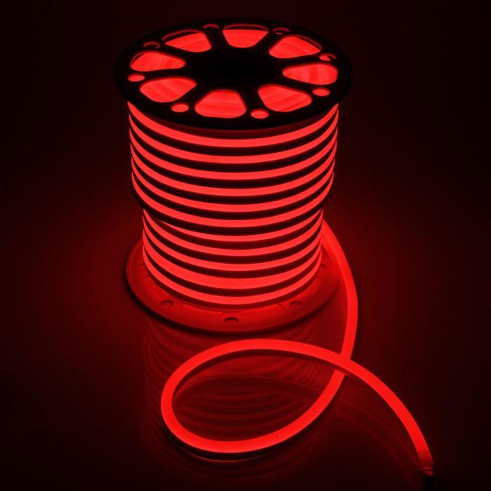 Гибкий неон 15 х 25 мм, 50 метров, LED-80-SMD5050, 220 V, RGB