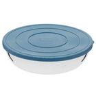 Контейнер для пищевых продуктов 1,5 л, d=22 см, толщина металла 0,5 мм