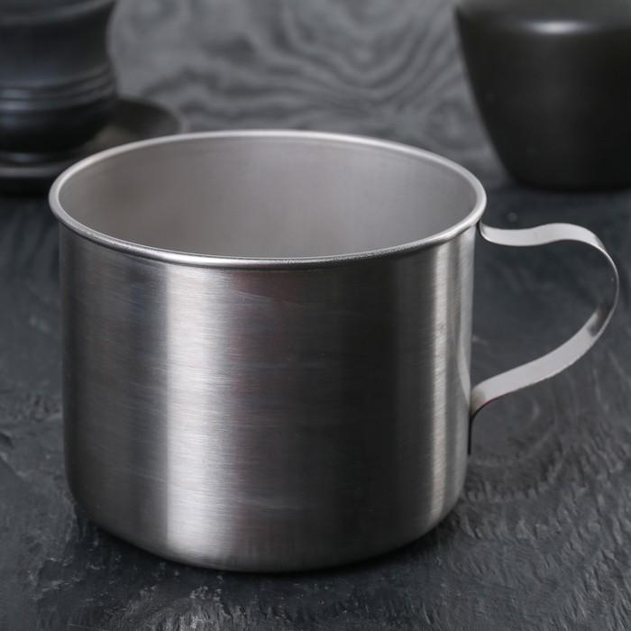 Кружка 600 мл, толщина металла 0,5 мм