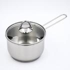 Ковш 1,75 л для кипячения молока, d=16 см, капсульное дно