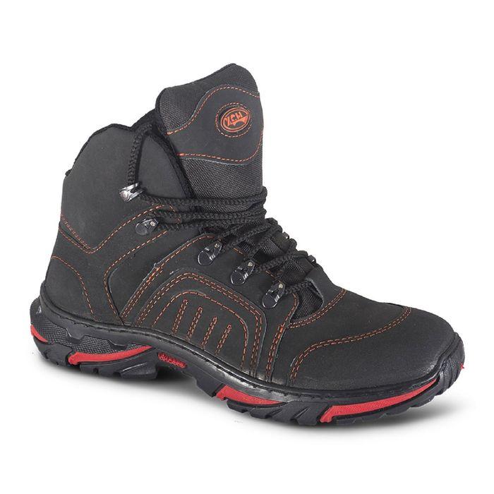 Ботинки мужские «Страйкер», летние, чёрные, размер 39