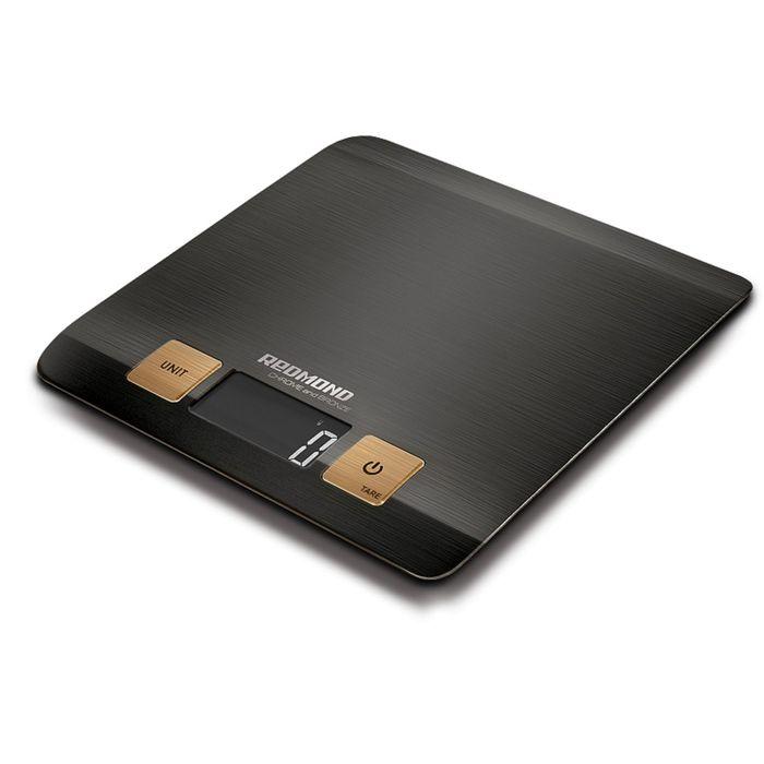 Весы кухонные Redmond RS CBM727, электронные, до 5 кг, чёрные