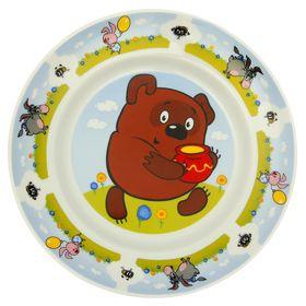 """Тарелка мелкая 20 см """"Винни Пух"""""""