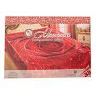 Покрывало 3D Marianna евро Розалинда 200х220 см, искус.шелк 100% п/э