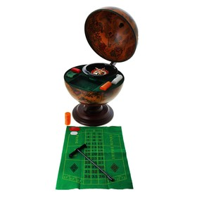 Desktop globe casino, d 33 cm.