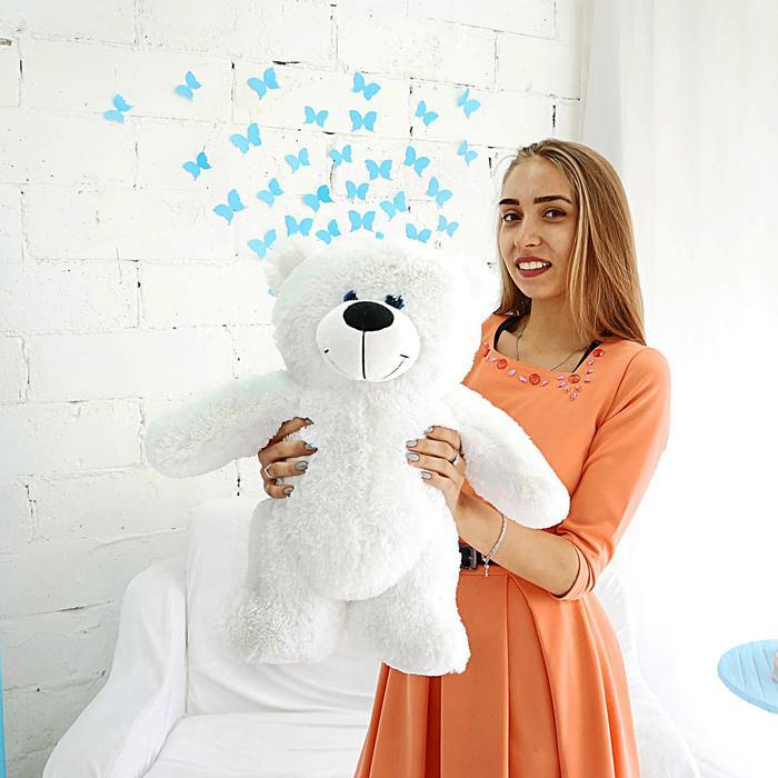 Мягкая игрушка «Мишка Гарри», цвет белый, 50 см