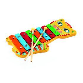 Игрушка музыкальная ксилофон «Кот», 8 тонов в Донецке