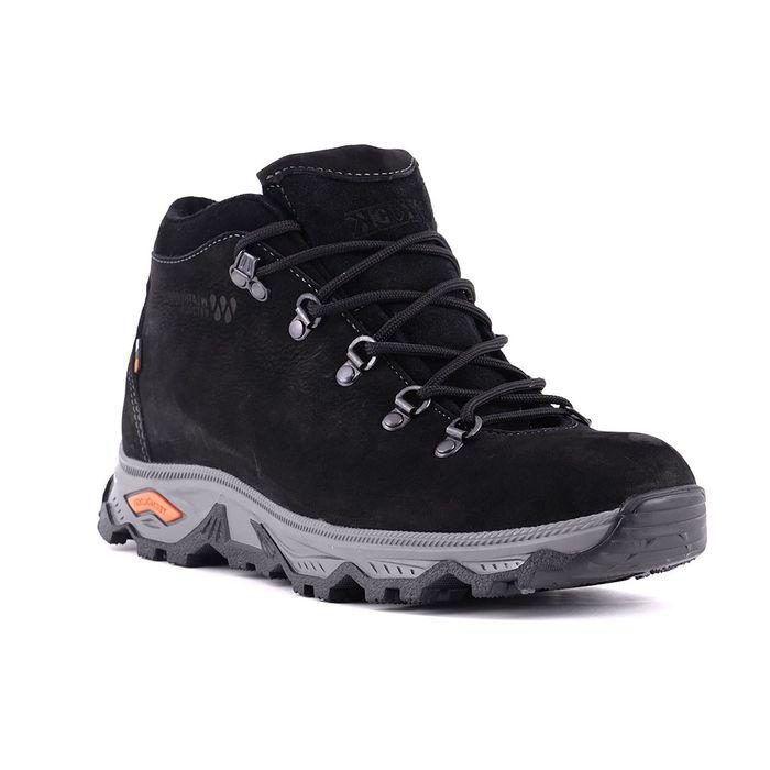 Ботинки TREK Анды, капровелюр, нубук, цвет чёрный, размер 37 (арт. 95-46)