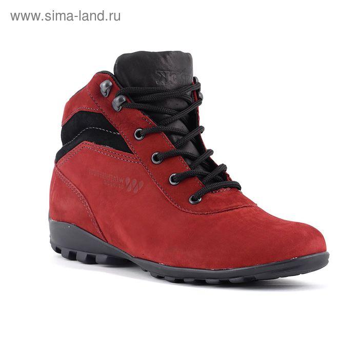 Ботинки TREK Спринт 93-19 капровелюр (темно-красный) (р.36)