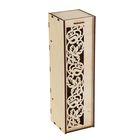 Коробка для вина с розами 38*11*11 см