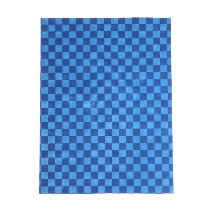 """Коврики влаговпитывающие AVS VK-04, 50х38 см, """"клетка"""", набор 2 шт."""