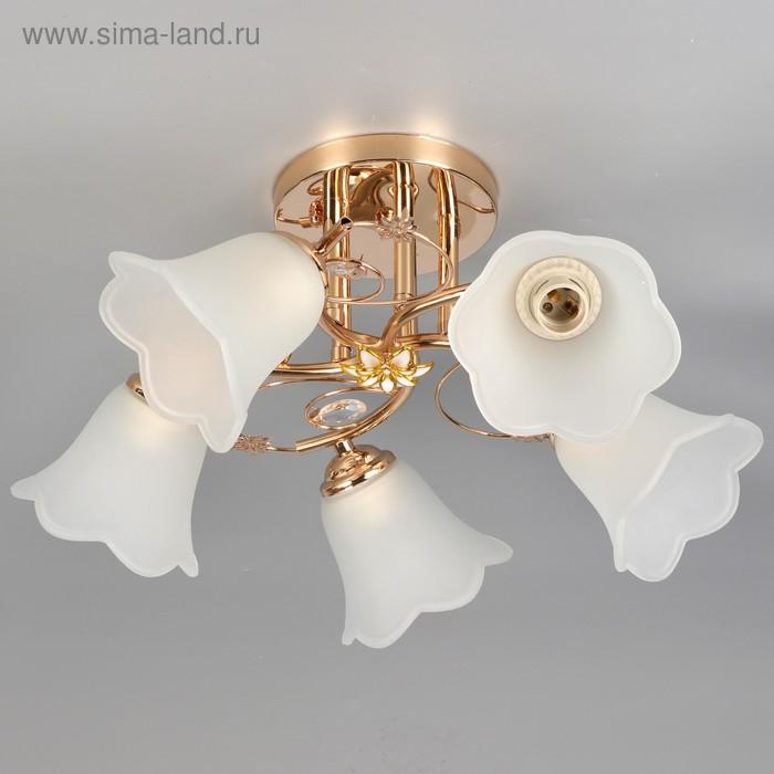 "Люстра ""Ноэль"" 5 ламп, МИКС"