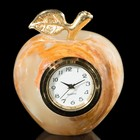 "Часы Яблоко 2"" 5х6х5см оникс"