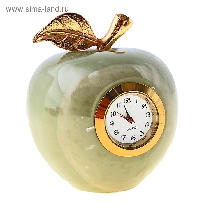 """Часы """"Яблоко"""", оникс"""
