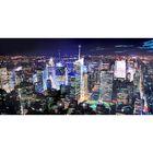 """Картина на оргстекле со стразами """"Манхэттен"""" 140*70 см"""