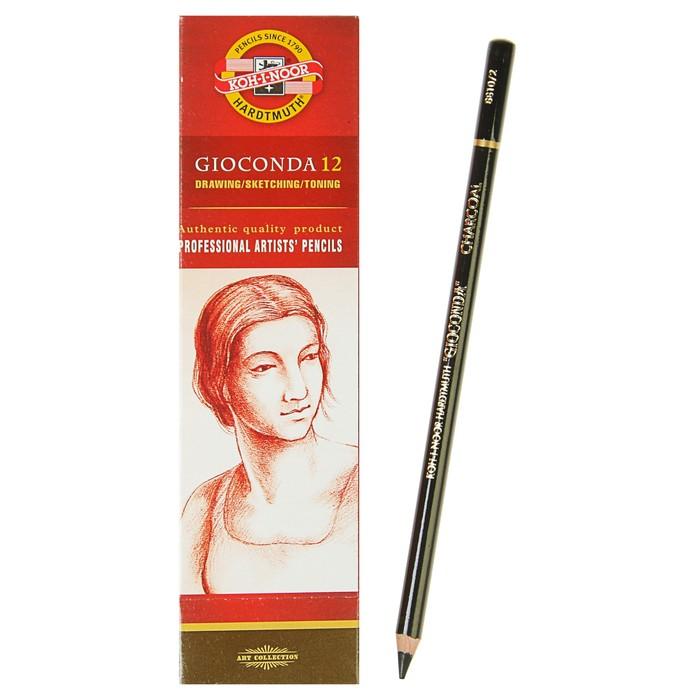 Уголь для рисования искусственный Koh-I-Noor GIOCONDA 8810 4.2 мм