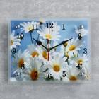 """Часы настенные, серия: Цветы, """"Ромашки"""", 20х25  см, микс"""