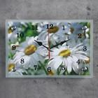 """Часы настенные, серия: Цветы, """"Ромашки"""", 20х30  см, микс - фото 1666754"""