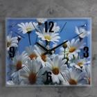 """Часы настенные, серия: Цветы, """"Ромашки"""", 40х50  см, микс - фото 1666858"""