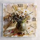 """Часы настенные, серия: Цветы, """"Ваза с белыми ромашками"""", 50х50  см, микс"""