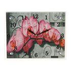 """Часы  настенные """"Цветочное настроение"""", 20х25 см микс"""