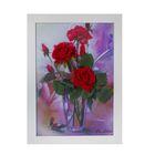 """Картина-гербарий """"Красные розы"""""""
