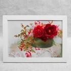 """Картина-гербарий """"Изящные цветы"""""""