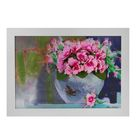 """Картина-гербарий """"Нежно-розовый букет"""""""