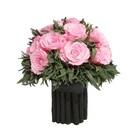 """Декоративная композиция """"Магия"""", лаванда и розы, 19 х 19 х 19 см, розовый"""