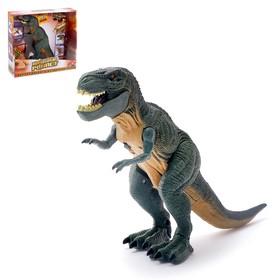 Динозавр «Рекс», работает от батареек, световые и звуковые эффекты