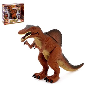 "Dinosaur ""Spinosaurus"", battery powered light and sound effects"