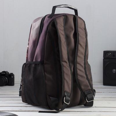 """Рюкзак молодёжный на молнии """"Лондон"""", 1 отдел, 1 наружный карман"""
