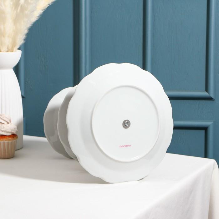 """Блюдо 3-ярусное """"Садовый дворик"""""""