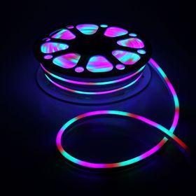 Flexible neon light 8 x 16 mm, 25 metres, LED-120-a SMD2835, 220 V, MULTI