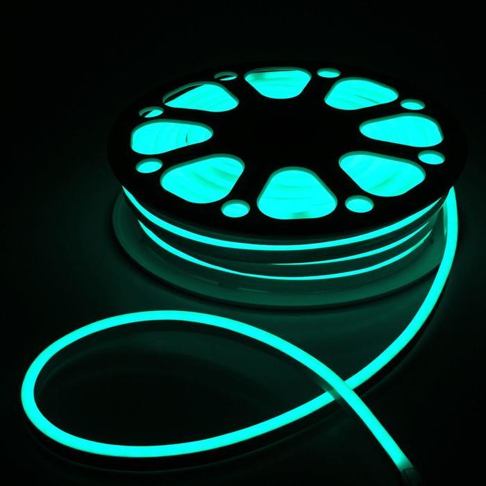 Гибкий неон, 8х16 мм, 25 м, LED/м-80-SMD5050-220V, RGB
