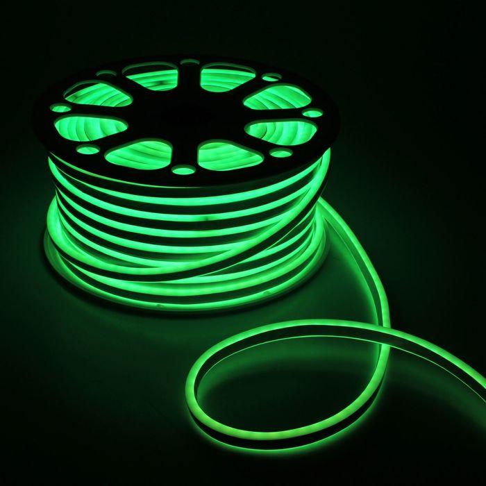 Гибкий неон 8 х 16 мм, 50 метров, LED-80-SMD5050, 220 V, RGB