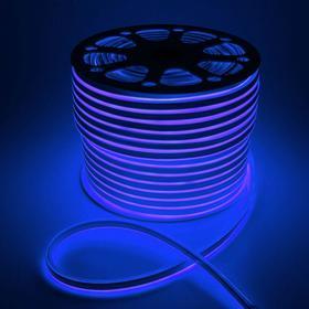 Гибкий неон, 8х16 мм, 100 м, LED/м-120-SMD2835-220V, СИНИЙ