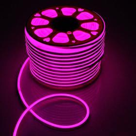 Flexible neon light 8 x 16 mm, 100 meters, LED-80-SMD5050, 220 V, RGB