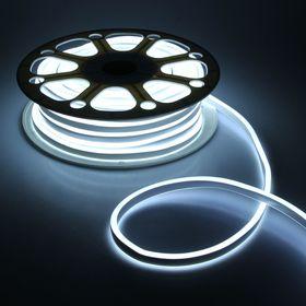 Гибкий неон двухсторонний 8 х 18 мм, 25 метров, LED-120-SMD2835, 220 V, БЕЛЫЙ
