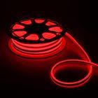 Гибкий неон двухсторонний 8 х 18 мм, 25 метров, LED-120-SMD2835, 220 V, КРАСНЫЙ