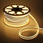 Гибкий неон двухсторонний 8 х 18 мм, 50 метров, LED-120-SMD2835, 220 V, ТЕПЛЫЙ БЕЛЫЙ