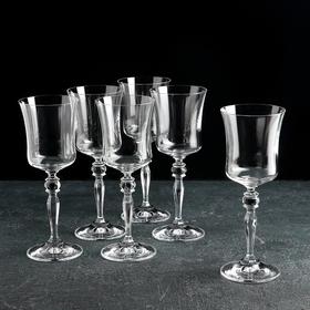 """Набор бокалов для вина 185 мл """"Грация"""", 6 шт"""