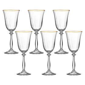Набор бокалов для вина «Анжела», 250 мл, 6 шт.